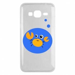 Etui na Samsung J3 2016 Niemowlę Rak