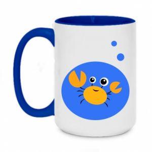 Two-toned mug 450ml Baby Cancer