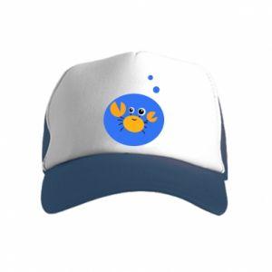 Kid's Trucker Hat Baby Cancer