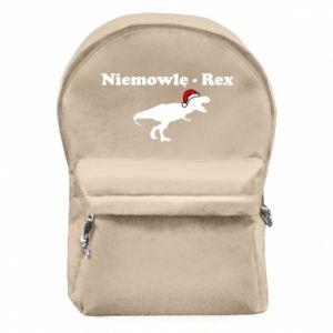 Plecak z przednią kieszenią Niemowlę - rex