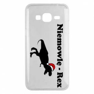Etui na Samsung J3 2016 Niemowlę - rex