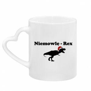Kubek z uchwytem w kształcie serca Niemowlę - rex
