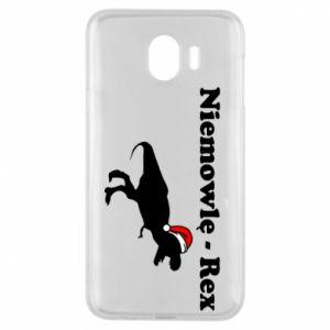 Etui na Samsung J4 Niemowlę - rex