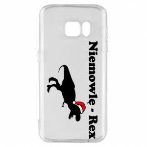 Etui na Samsung S7 Niemowlę - rex