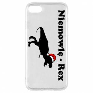 Etui na iPhone 7 Niemowlę - rex