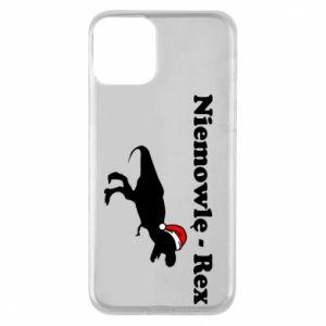 Etui na iPhone 11 Niemowlę - rex