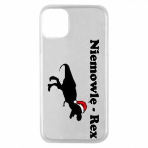 Etui na iPhone 11 Pro Niemowlę - rex