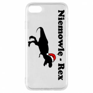 Etui na iPhone 8 Niemowlę - rex