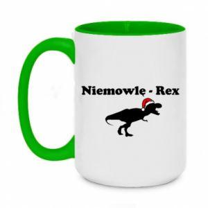 Kubek dwukolorowy 450ml Niemowlę - rex