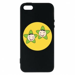 Etui na iPhone 5/5S/SE Niemowlęta Twins - PrintSalon