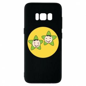 Etui na Samsung S8 Niemowlęta Twins - PrintSalon