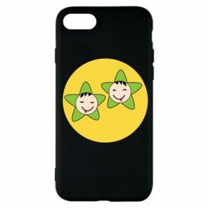 Etui na iPhone 7 Niemowlęta Twins - PrintSalon