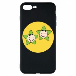 Etui na iPhone 7 Plus Niemowlęta Twins - PrintSalon
