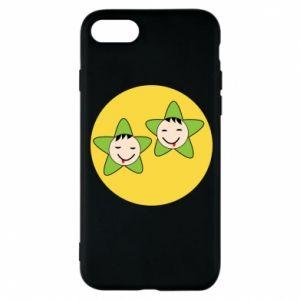 Etui na iPhone 8 Niemowlęta Twins - PrintSalon