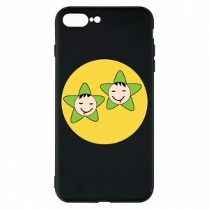 Etui na iPhone 8 Plus Niemowlęta Twins - PrintSalon