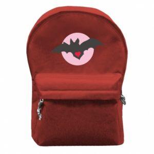 Plecak z przednią kieszenią Nietoperz