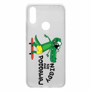 Phone case for Xiaomi Redmi 7 Never give up, with crocodile