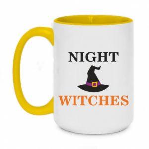 Kubek dwukolorowy 450ml Night witches
