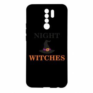 Etui na Xiaomi Redmi 9 Night witches