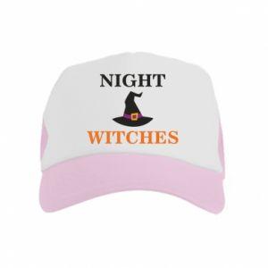 Czapka trucker dziecięca Night witches