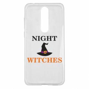 Etui na Nokia 5.1 Plus Night witches