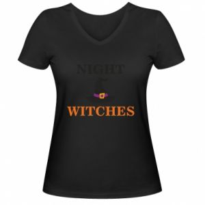 Damska koszulka V-neck Night witches