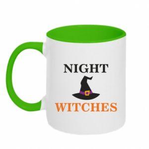 Two-toned mug Night witches