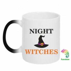 Kubek-kameleon Night witches