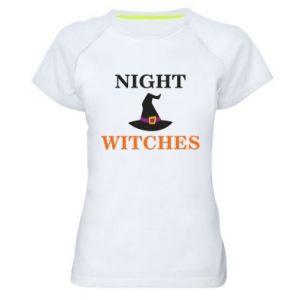 Damska koszulka sportowa Night witches