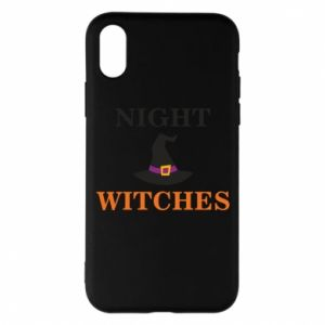 Etui na iPhone X/Xs Night witches