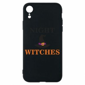 Etui na iPhone XR Night witches