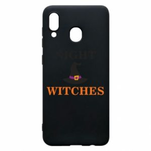 Etui na Samsung A20 Night witches