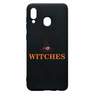 Etui na Samsung A30 Night witches