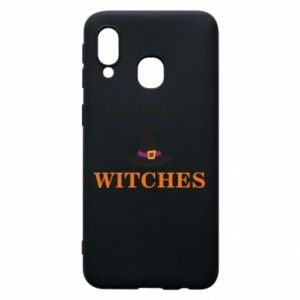 Etui na Samsung A40 Night witches
