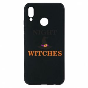 Etui na Huawei P20 Lite Night witches