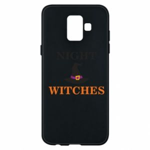 Etui na Samsung A6 2018 Night witches
