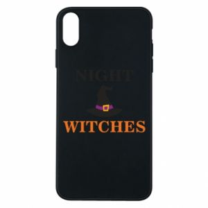 Etui na iPhone Xs Max Night witches