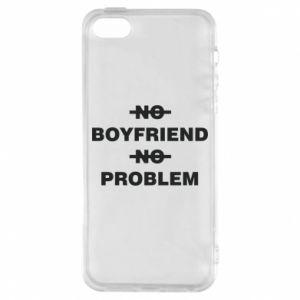 Etui na iPhone 5/5S/SE No boyfriend no problem