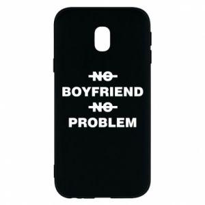 Etui na Samsung J3 2017 No boyfriend no problem