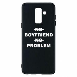 Etui na Samsung A6+ 2018 No boyfriend no problem