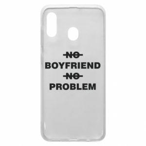 Etui na Samsung A20 No boyfriend no problem