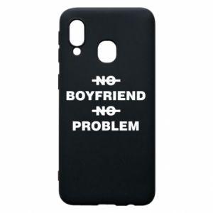 Etui na Samsung A40 No boyfriend no problem