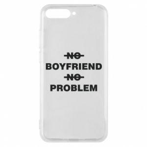 Etui na Huawei Y6 2018 No boyfriend no problem