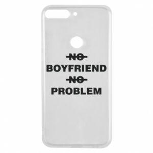 Etui na Huawei Y7 Prime 2018 No boyfriend no problem