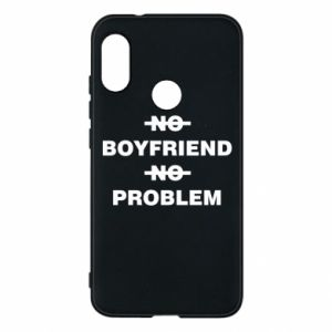 Etui na Mi A2 Lite No boyfriend no problem