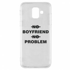 Etui na Samsung A6 2018 No boyfriend no problem