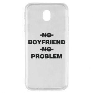 Samsung J7 2017 Case No boyfriend no problem