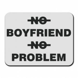 Podkładka pod mysz No boyfriend no problem