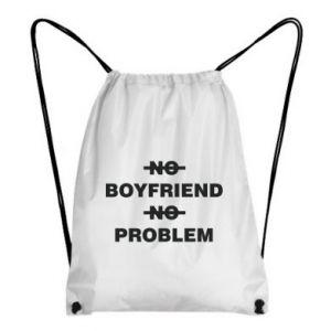 Plecak-worek No boyfriend no problem