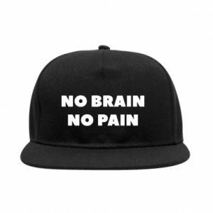 Snapback NO BRAIN NO PAIN